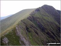 Walk Trum y Ddysgl walking UK Mountains in The Moel Hebog Area Snowdonia National Park Gwynedd    Wales