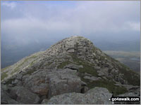 Walk Carnedd Moel Siabod walking UK Mountains in The Moelwyns Snowdonia National Park Conwy    Wales