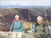 Walk The Cairnwell in  The West Mounth - Blair Atholl to Braemar and Blairgowrie AberdeenshirePerth and Kinross