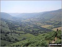 Walk Black Mountain (South Top) walking UK Mountains in The Black Mountains The Brecon Beacons National Park Powys Herefordshire   Wales England