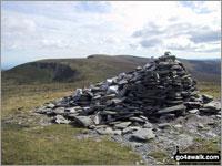 Walk Cadair Bronwen walking UK Mountains in The Berwyns  Denbighshire Wrexham   Wales