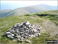 Walk Calders walking UK Mountains in The Howgill Fells The Yorkshire Dales National Park Cumbria    England