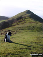 The Lawley in The Shropshire Hills Area of Outstanding Natural Beauty  Shropshire    England