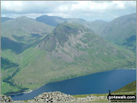 Yewbarrow (North Top) Photo by Ian Mansell