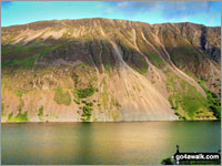Walk Illgill Head walking UK Mountains in The Southern Fells The Lake District National Park Cumbria    England