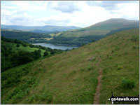 Walk Tor y Foel walking UK Mountains in The Black Mountains The Brecon Beacons National Park Powys    Wales