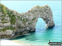 Walk route map do101 Swyre Head and The Jurassic Coast from Durdle Door Durdle Door Car : durdle door map - pezcame.com