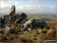 Stiperstones - one of The Best 10 Walks in The Shropshire Hills
