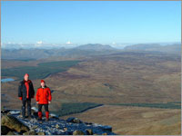 The summit of Arenig Fawr  the highest point in The Arenigs Photo: John Roberts