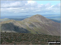 Walk Crag Hill (Eel Crag) in  The North Western Fells Cumbria