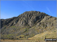 Walk Pavey Ark in  The Central Fells  of The Lake District National Park, Cumbria, England