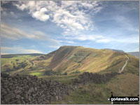 Mam Tor from Hollins Cross - one of The Best 12 Walks in The Peak District