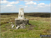 Walk Burnhope Seat in  The North Pennines  Cumbria/County Durham, England