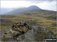 Walk Grey Knotts walking UK Mountains in The Western Fells The Lake District National Park Cumbria    England
