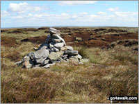 Walk Chapelfell Top in  The North Pennines  County Durham, England