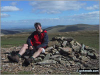 Walk Knott (Uldale Fells) in  The Northern Fells  of The Lake District National Park, Cumbria, England