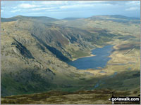 Walk Pen yr Helgi Du in  The Carneddau Area  of Snowdonia National Park, Conwy, Wales