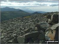 Walk Yr Eifl walking UK Mountains in Anglesey and The Lleyn Peninsula  Gwynedd    Wales