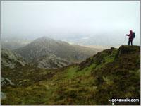 Walk Craiglwyn walking UK Mountains in The Carneddau Area Snowdonia National Park Conwy    Wales