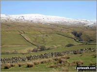 Walk Bellbeaver Rigg (Tynehead Fell) walking UK Mountains in The North Pennines  Cumbria    England