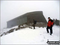 The summit of Snowdon, Wales's Highest 'Marilyn'