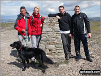 The Yorkshire Three Peaks - Ingleborough summit