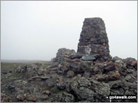 The summit of Moel Hebog  the highest point in The Moel Hebog Area Photo: Paul Latham