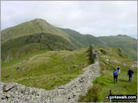Walk High Pike (Scandale) in  The Eastern Fells  of The Lake District National Park, Cumbria, England