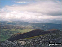 Walk Beinn a' Ghlo (Carn nan Gabhar) in  The West Mounth - Blair Atholl to Braemar and Blairgowrie Perth and Kinross