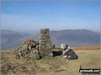 Walk Clough Head in  The Eastern Fells Cumbria