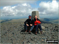 The summit of Skiddaw  the highest point in The Northern Fells Photo: Richard Nicholls