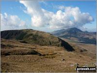 Walk Cribin Fawr walking UK Mountains in The Cadair Idris Area Snowdonia National Park Gwynedd    Wales