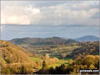 Walk Beacon Ring (Long Mountain) walking UK Mountains in North Cambrian Mountains  Powys    Wales