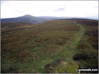 Walk route map po153 Pen Cerrig-calch and Waun Fach from Nuadd-fawr Nuadd-fawr, Llanbedr, Table Mountain (Pen Cerrig-calch), Trwyn Ysgwrfa, Pen Cerrig-calch, Pen Allt-mawr, Pen Twyn Glas, Mynydd Llysiau, Pen Trumau, Waun Fach, Pen y Gadair Fawr, Pen Twyn Mawr, Pen Gwyllt Meirch, Nantyrychain, Cwm Farm, Nuadd-fawr The Black Mountains,  The Brecon Beacons National Park,  Powys,  Wales
