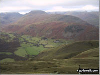 Walk Hartsop Above How in  The Eastern Fells Cumbria