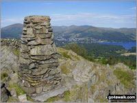 Walk Black Fell (Black Crag) in  The Southern Fells  of The Lake District National Park, Cumbria, England