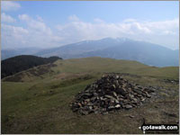 Walk Sale Fell walking UK Mountains in The North Western Fells The Lake District National Park Cumbria    England