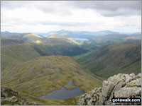 Walk Great End in  The Southern Fells Cumbria