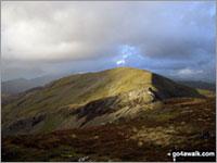 Walk Moelwyn Mawr walking UK Mountains in The Moelwyns Snowdonia National Park Gwynedd    Wales