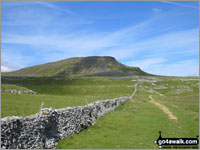 Pen-y-ghent from Horton in Ribblesdale - one of The Best 12 Walks in The Yorkshire Dales