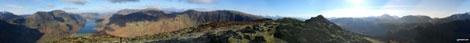 *360° Panorama from Fleetwith Pike