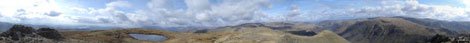 *360 Degree Panorama from the summit of Red Screes