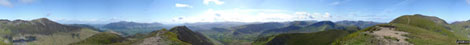 *360° panorama from the summit of Scar Crags
