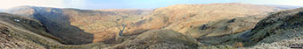 Branstree (Artlecrag Pike) (left) and Swindale from Nabs Moor Summit