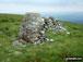 Tarren y Gesail summit trig point and cairn