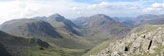 Kirk Fell, Looking Stead & Pillar, Ennerdale, High Stile, High Crag & Hay Stacks, Crummock Water & Buttermere and Grasmoor from Green Gable
