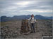 Me by the Trig Point on the summit of Pillar