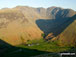 Wasdale Head at sunrise from Lingmell