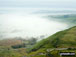 Castleton under a temperature inversion from Mam Tor