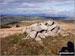 Harper Hills summit cairn